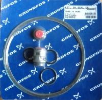 Комплект уплотнения вала к насосам TP(D) BUBE,  D16 мм